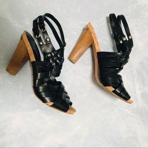Coach strappy heels